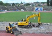 Un muncitor de pe santierul de la stadionul Ion Oblemenco din Craiova a murit. Omul a cazut de la 13 metri inaltime