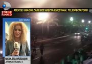 "Un jurnalist Kanal D, aflat in Franta, a reusit sa evite ca prin minune atacul terorist din Nisa. Nicoleta Dragusin: ""Oamenii sunt si acum terorizati, evita promenada, foarte putini vin sa se uite sa"