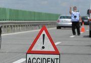 Trafic ingreunat pe Autostrada Soarelui din cauza unui accident. Coada de masini se intinde pe 5 km