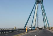 CNADNR prelungeste din nou restrictiile de circulaţie pe podul vechi de la Agigea. Cand va fi dat in folosinta
