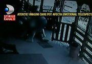 Scene de coşmar într-un bar din Bistriţa. Un bărbat este pur şi simplu snopit în bătaie de doi indivizi, fără ca nimeni să intervină