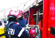 Un autocar cu 10 persoane a luat foc in apropiere de Pitesti! Incidentul s-a petrecut pe A1