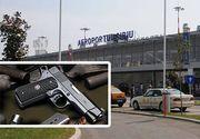 Focuri de arma pe aeroportul din Sibiu. Pasagerii au trecut prin clipe de panica