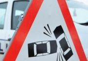 Trafic blocat pe Bucuresti-Pitesti. Un elicopter a aterizat de urgenta dupa un accident