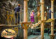 Parcul de aventura din Salina Praid, singurul de acest fel din lume, a fost inchis. Salrom nu a mai prelungit contractul cu cei care detineau afacerea