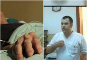 O femeie din Dambovita face acuzatii grave: tatal ei a intrat in coma din nepasarea medicilor. In timp ce barbatul zacea pe patul de spital, asistenul trimitea rudele dupa shaorma