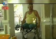 Situatia disperata in care a ajuns in barbat din Vrancea. Are picioarele amputate, insa vrea sa isi vanda proteza de la un picior pentru a achita impozitelele locale