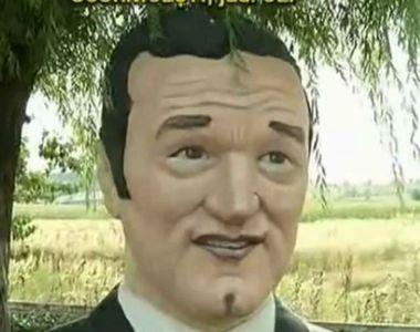 """Ce spun localnicii din Scornicesti despre statuia lui Gigi Becali: """"Poate ajuta si..."""