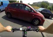 Mergea cu bicicleta prin Bucuresti, iar apoi o soferita a intrat din plin in el. Cand a ajuns politia, tot ea a facut pe victima. Cum s-a solutionat cazul