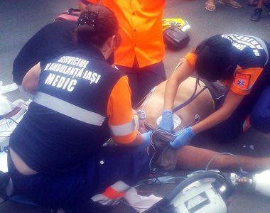 Canicula face victime. Un barbat a murit in plina strada. Echipajul medical s-a chinuit...