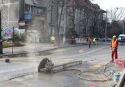 Lucrarile de la noua statie de metrou Eroilor s-au distrus. Toate galeriile subterane au fost inundate!