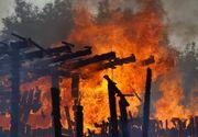 Incendiu de proportii într-un centru comercial din Timisoara. Aproximativ 300 de persoane au fost evacuate