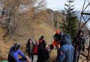 Doi turisti de 70 de ani au ramas blocati in Masivul Bucegi. Salvamontistii au intervenit pentru recuperarea lor