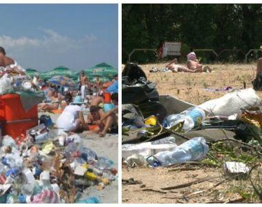 Nu doar plajele Marii Negre sunt transformate in gropi de gunoi de catre turisti. Si...