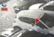 Si-a lasat masina intacta in parcare si a gasit-o distrusa! Totul s-a intamplat doar in cateva scunde