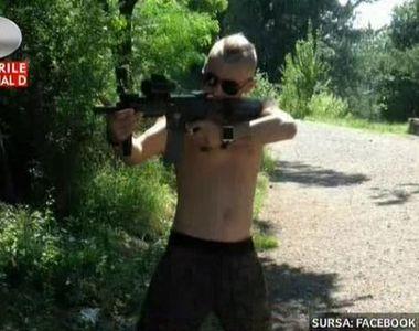 Tanarul care a bagat spaima intr-un cartier din Cluj Napoca a impuscat un barbat....