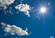 Weekend cu maxime termice de 34 de grade Celsius. De luni vremea se schimba si vin ploile, avertizeaza meteorologii