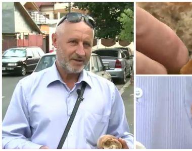 Un barbat a gasit un surub in painea cumparata dintr-un hipermarket din Capitala....