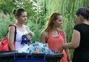 """Campania """"Descult prin iarba"""", din parcul IOR. Tinerii doneaza pet-urile ca sa stranga bani pentru copiii nevoiasi"""