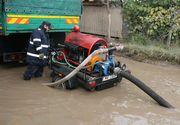 Prapad in Capitala. Ploaia a facut ravagii. 25 de case au fost inundate