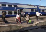 Aproape 270 de călători au fost prinşi fără bilete în trei trenuri