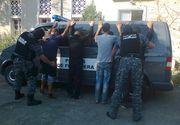Politistii de frontiera din Timis au prins 28 de migranti irakieni si sirieni care voiau sa intre ilegal in Romania