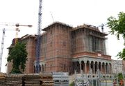 Cum arata acum Catedrala Mantuirii Neamului! Pe santier se lucreaza in trei schimburi