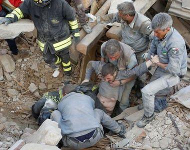 Vesti bune din Italia! Doar patru romani mai sunt dati disparuti dupa cutremurul de...
