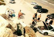 """Plaja salbatica de la Corbu, invadata de gratare. Tinerii care au """"batjocorit"""" locul, revoltati pe net: """"Mincinosilor! Puneti cumva bani la amenda cu mine"""""""