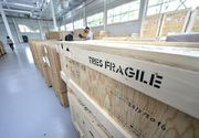 Primele imagini cu laserul de la Magurele. Componentele au fost aduse in Romania
