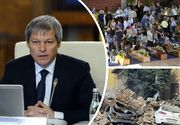 Premierul Dacian Ciolos si ministrul muncii, Dragos Paslaru, au ajuns in Italia, alaturi de romanii afectati de cutremur
