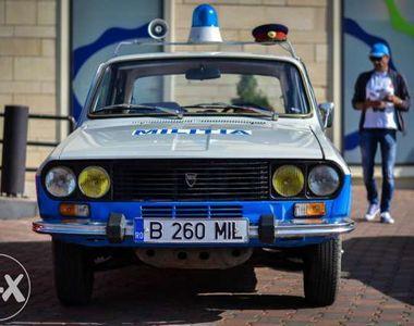 """Un roman a scos la vanzare o Dacia de """"Militie"""". Cat cere pe ea?"""