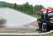 Tinerii pregatiti la scoala de pompieri de langa Ploiesti trec prin antrenamente draconice: interventii in in tuneluri inguste, la aproape 2.000 de grade celsius