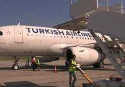 Imagini spectaculoase pe aeroportul din Cluj Napoca. Un avion sosit din Turcia a avut parte de o primire specială. S-a marcat astfel inaugurarea unui nou zbor din Istanbul până în inima Ardealului.