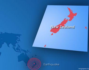Cutremur de 7,2 grade pe scara Richter in Noua Zeelanda! Pana acum nu se stie daca...