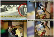 """Imagini sfasietoare la Timisoara. O mama si-a lasat copiii sa doarma pe asflat intr-o cutie de carton: """"Ca animalele"""""""