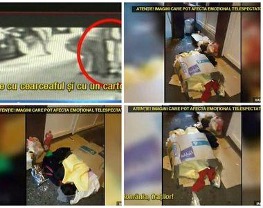 Imagini sfasietoare la Timisoara. O mama si-a lasat copiii sa doarma pe asflat intr-o...