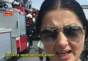 Momente teribile pentru Gabriela Cristea! Pericolul i-a trecut practic pe la ureche pe cand se afla pe Autostrada Soarelui, in drum spre Constanta.