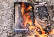 Un telefon mobil a explodat intr-un centru comercial din Focsani. Un barbat a fost ranit