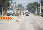 Soseaua spre Institutul Magurele e asfaltata de urgenta pentru vizita presedintelui francez