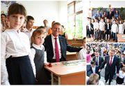 """Iohannis, către elevi: """"Azi pare mai uşor să copiezi decât să faci singur, dar vă îndemn să învăţaţi şi să fiţi corecţi"""""""
