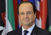 Hollande începe marţi prima sa vizită în România. Preşedintele Franţei vizitează complexul Măgurele şi fabrica Airbus