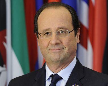 Hollande începe marţi prima sa vizită în România. Preşedintele Franţei vizitează...