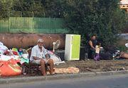 O primarie de sector din Capitala a demolat mai multe baraci construite ilegal. Autoritatile le-au spus oamenilor sa se mute langa cimitir