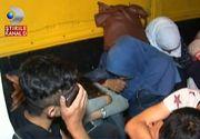 Patru arabi au racolat 24 de imigranti sirieni, printre care si copii, din Bucuresti. Le-au cerut mii de euro ca sa ii treaca in Ungaria, dar au fost prinsi la granita Cenad.