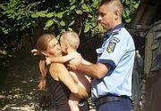 Un copil de un an si noua luni din Bacau a fost lasat singur de catre mama lui si a disparut de acasa. Unde l-au gasit politistii