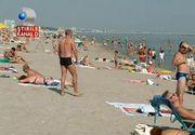 Vreme perfecta pe litoral. Turistii s-au relaxat, in statiunea Mamaia, la 30 de grade Celsius.