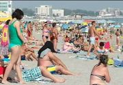 Ultimul weekend pe litoral. Plaja din Mamaia a fost plina ochi. De ce surpriza au avut parte turistii care au fost in aceest weekend la mare