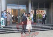 Andreea Berecleanu s-a căsătorit cu medicul esteticia Constantin Stan. Ceremonia civilă, oficiată de primarul Gabriela Firea