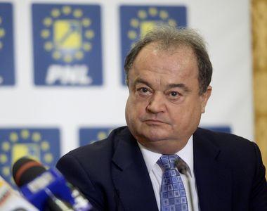 Vasile Blaga da declaratii la DNA intr-un dosar in care este martor